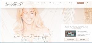 LoveAll 5D homepage screenshot